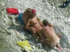بلوند باریک خروس در ساحل می خورد سکس فیلم تلگرام